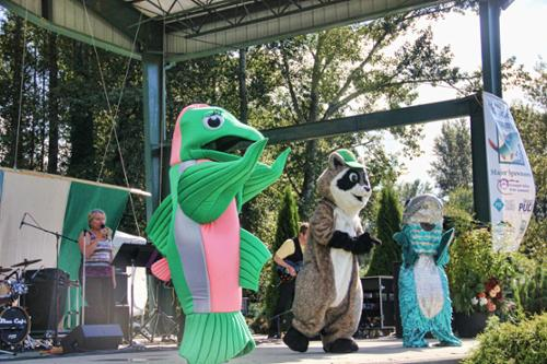 Time to party at the Skagit River Salmon Festival.